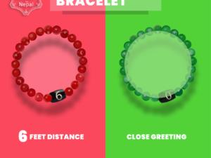 Social Distancing Bracelets